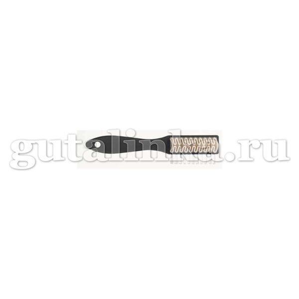 Щётка для обуви для кожи велюрнубук Stielkreppburste SOLITAIRE - 900660