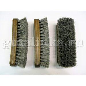 Щетка SALRUS натуральное деревонатуральный волос темная колодка 17 см -