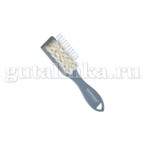 Двойная комбинированная щетка Crepe Burste Kombiniert для велюра SALAMANDER Professional - 8233