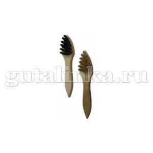 Щетка-Намазок треугольная SALRUS дерево натуральный ворс малая -