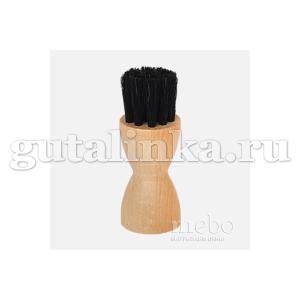 """Щетка-Намазок """"Тигель"""" NIKI LINE 7 см малая светлая колодка деревонатуральный волос -"""