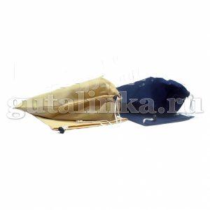 Чехол для обуви плоский 25х36 см 2 шт с фиксатором Магия Гуталина -