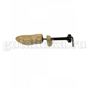 Растяжка винтовая для обуви универсальная деревянная колодка с пяткой -