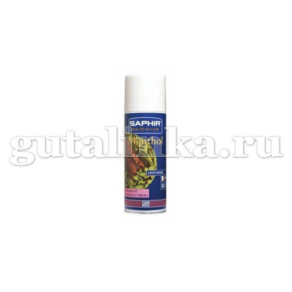Дезодорант для обуви SAPHIR Menthol аэрозоль 200 мл - sphr0624
