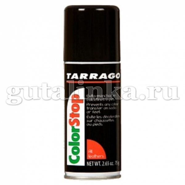 Защитный спрей Color Stop против окрашивания в обуви TARRAGO аэрозоль 100 мл - TCS99