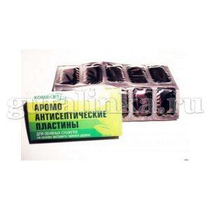 Пластины аромо-антисептические для сушилки обуви КОМФОРТ 10 пластин - ПлСО-003