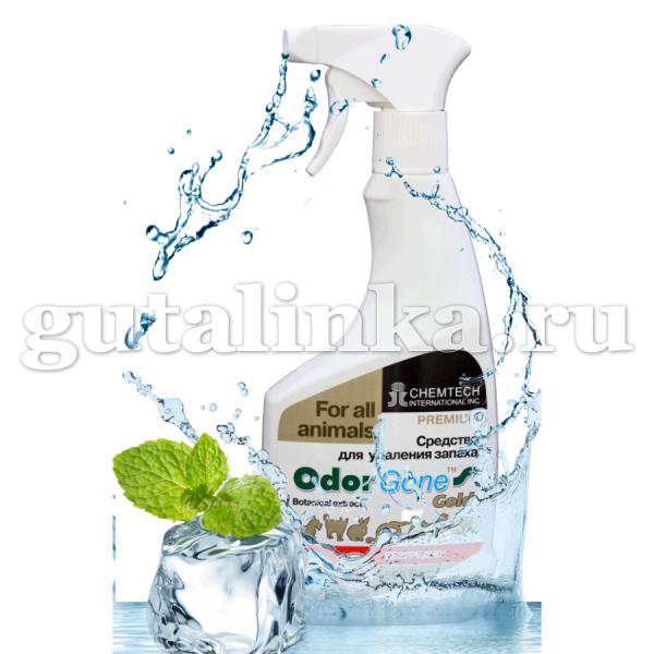 Уничтожитель меток и запаха животных Animal Gold OdorGone спрей 500 мл концентрат - Л760541