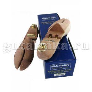 Распорка для хранения обуви SAPHIR подпружиненная колодка натуральное дерево кедр - sphr2811/39