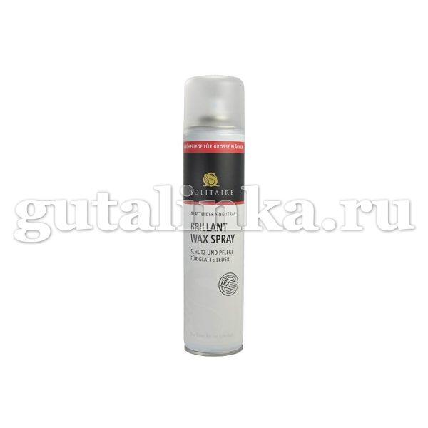 Спрей для гладкой и глянцевой кожи Brillant Wax Spray SOLITAIRE аэрозоль 300 мл - 901380