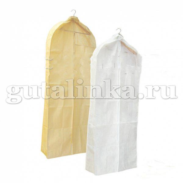 Чехол для свадебных бальных и вечерних платьев объемный клёш 130х60х1020 см Магия Гуталина -