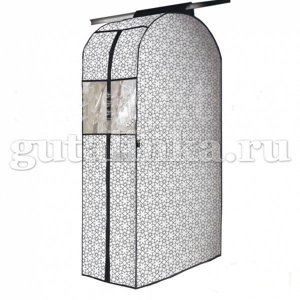 Чехол-кофр для одежды с окошком 30х57х108 см LUMINELLO COLLECTION -