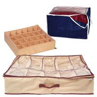 Чехлы-ящики для одежды и обуви органайзеры
